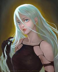 Nier A2 Fan-art by shoshoxiang