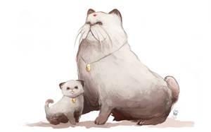 Meowth - Persian by MrRedButcher