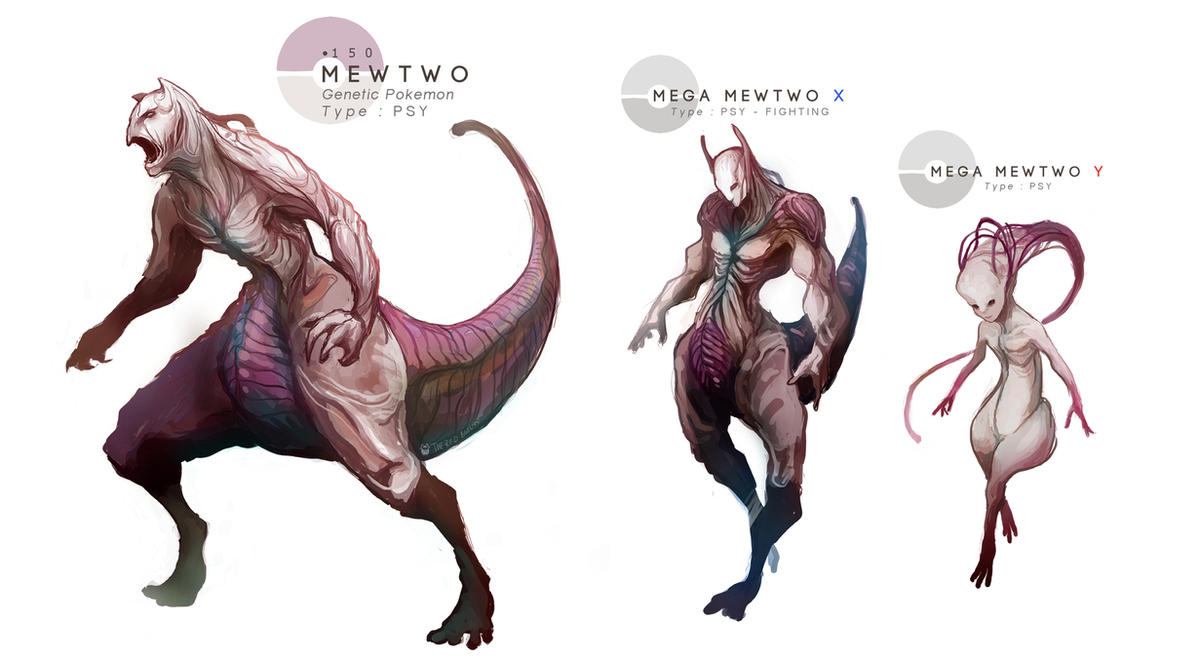 Mewtwo mega evolutions by mrredbutcher on deviantart - Mewtwo y mega evolution ...