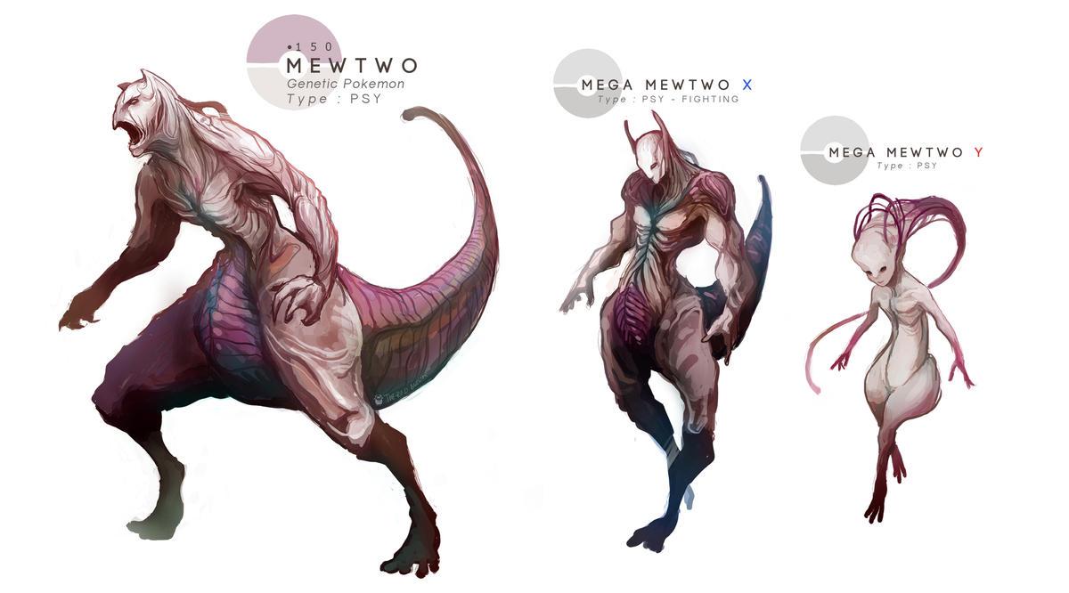 Mewtwo mega evolutions by mrredbutcher on deviantart - Mewtwo evolution ...