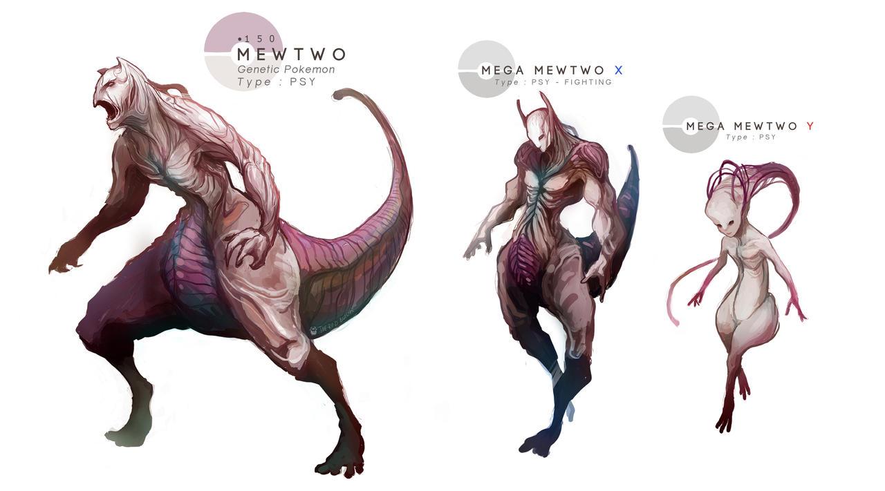 Mewtwo mega evolutions by mrredbutcher on deviantart - Mewtwo mega evolution ...