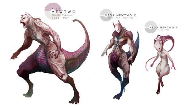 MEWTWO + Mega Evolutions