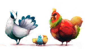 Legendary Chickens -Cleaned-