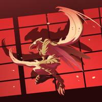Ninja Scyther by MrRedButcher