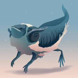 Axolotl by MrRedButcher
