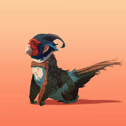 Pheasant Monkey by MrRedButcher
