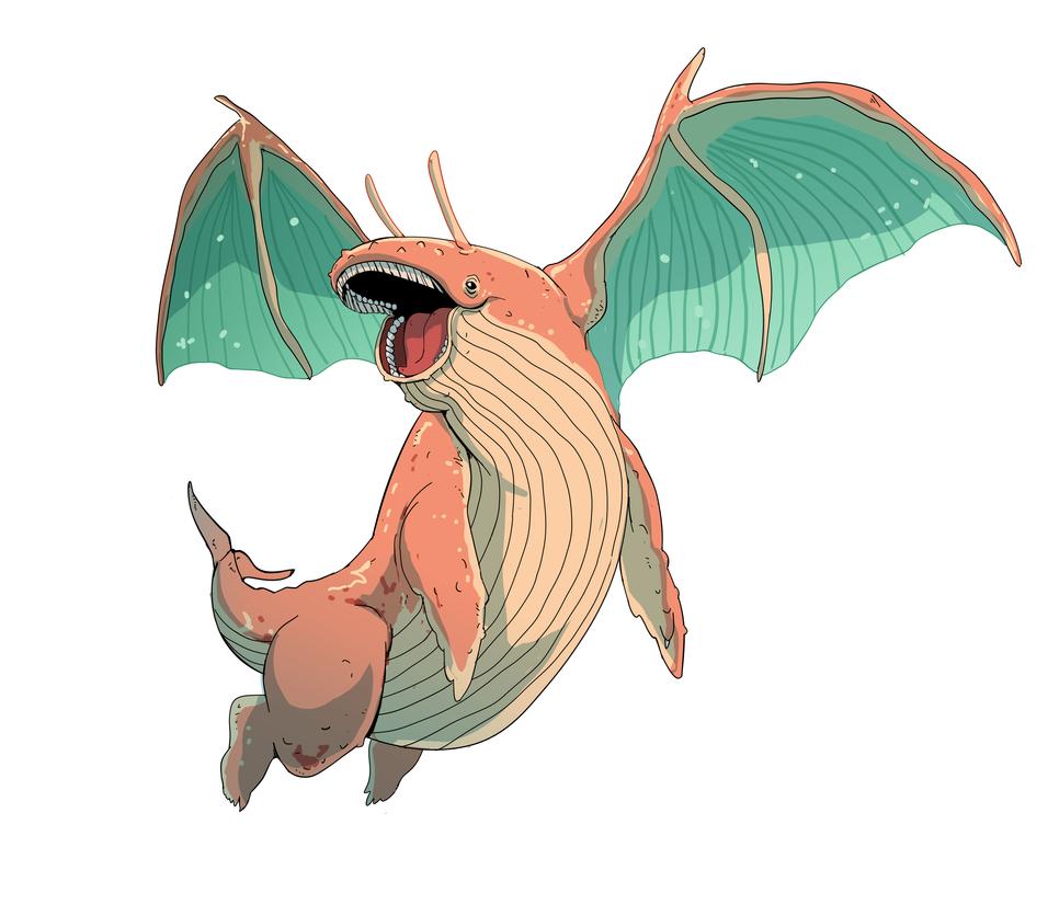 Dragonite by MrRedButcher