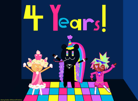 Cookie Run OvenBreak's 4th Anniversary!