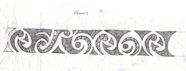 Maori Band Tattoo Design: Tattoo Designs By Jonathan Daniels