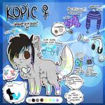 Kopic Ref Sheet 2011