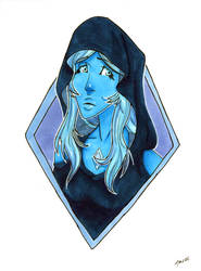 Blue Diamond by azyzl