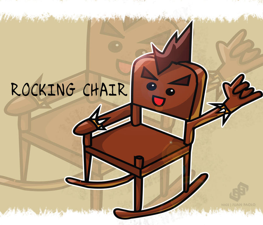 Rocking chair by nicejuanpaolo on deviantart