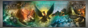 Percy Jackson New Covers