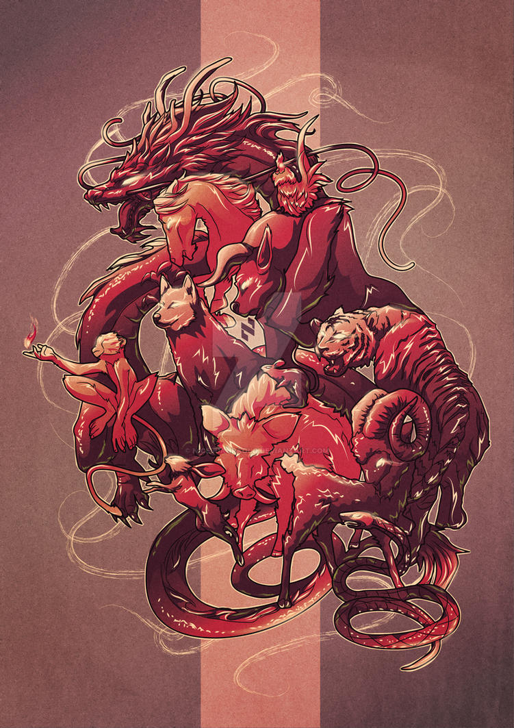 Chinese Zodiac: Fire Monkey by NICEjuanpaolo on DeviantArt