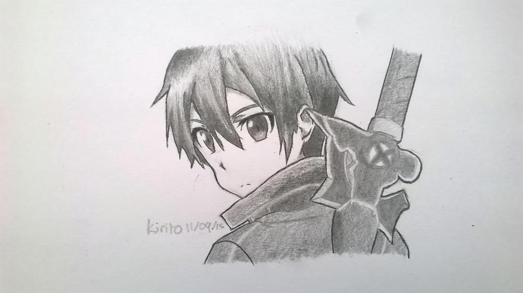 Kirito by DarkUmbreon12