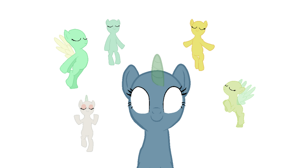 What Are The Six Main Elements Of Art : Ponies bases on mlp deviantart