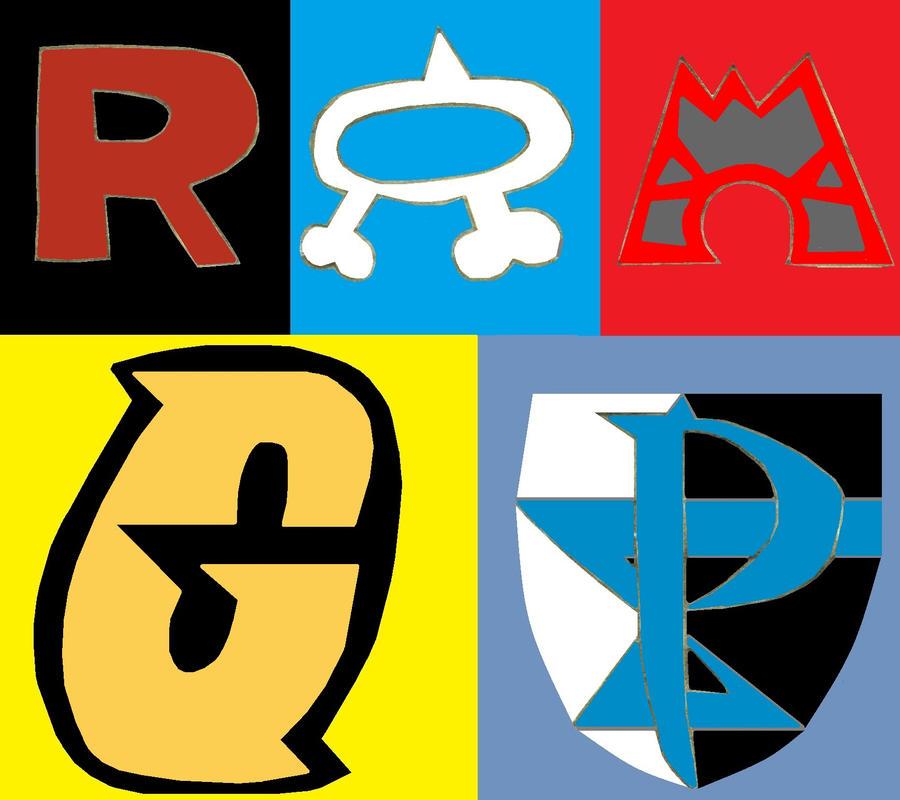 Pokemon Villainous Team Logos 264682249