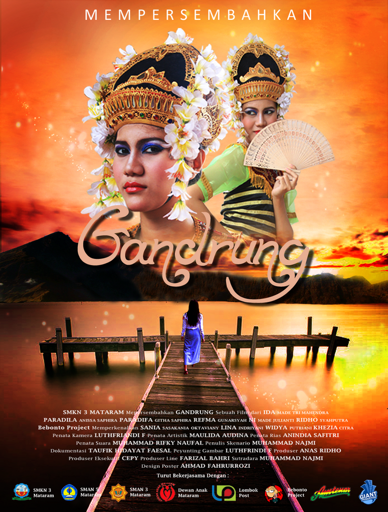 Gandrung Movie Poster 2 by dojrek