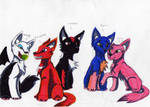 sonic team as wolves
