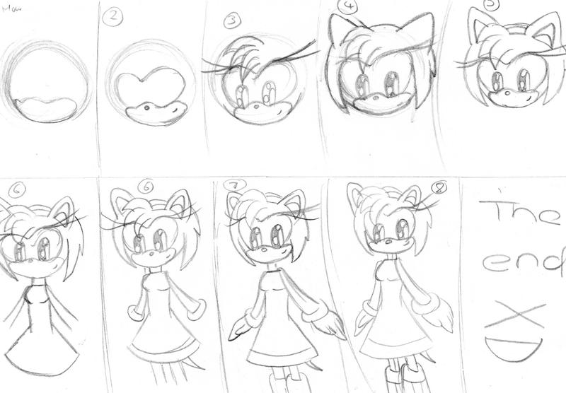 Sonic Amy Coloring Pages - Eskayalitim