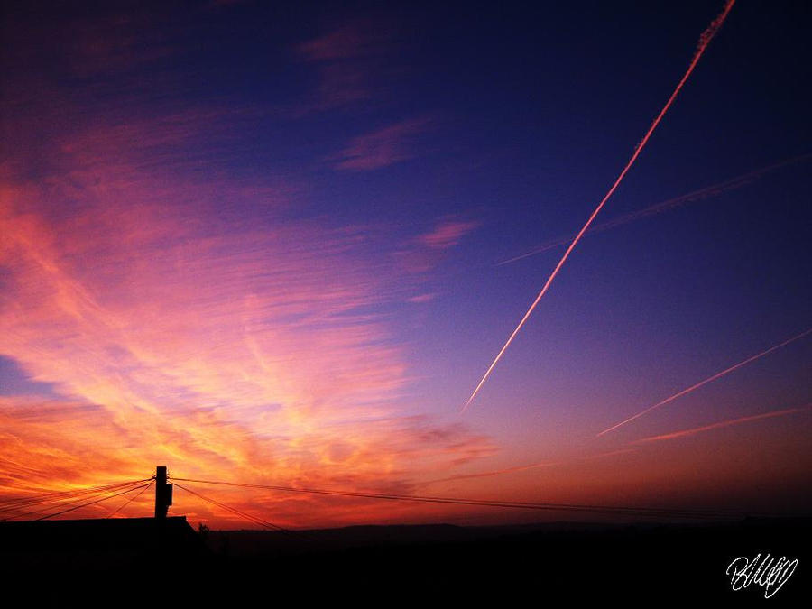 Flightpath to Paradise by amarinimo