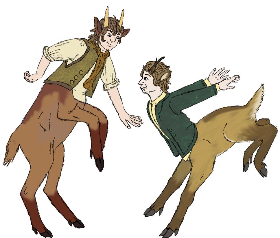 Hobbit Deer by Joysweeper