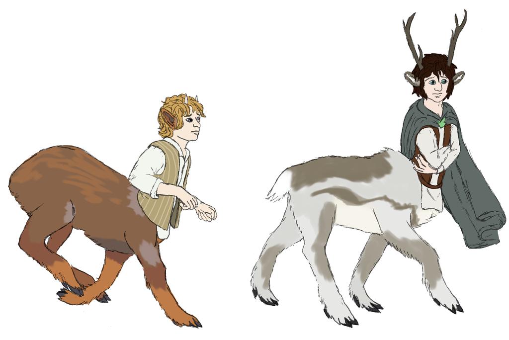 Pudu and Reindeer by Joysweeper