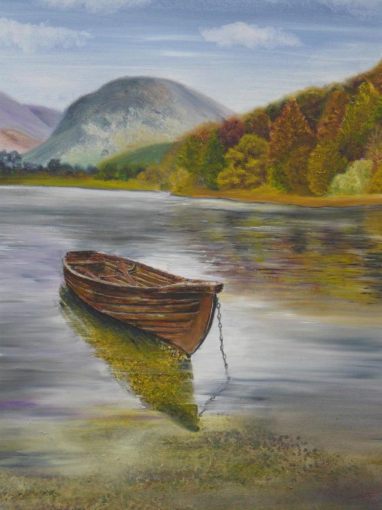 The Rowing Boat by AnnMarieBone on DeviantArt