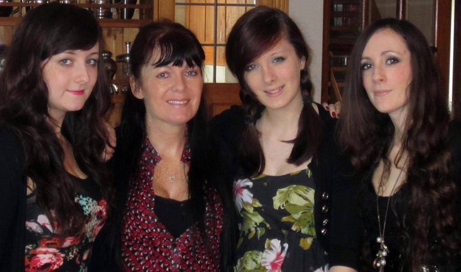 My 3 beautiful daughters by AnnMarieBone