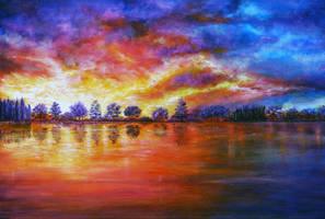 Secret Sunset by AnnMarieBone