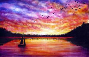 Come Sail Away by AnnMarieBone