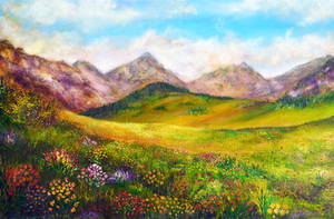 Mountain Spring by AnnMarieBone