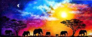 Roaming Skies by AnnMarieBone
