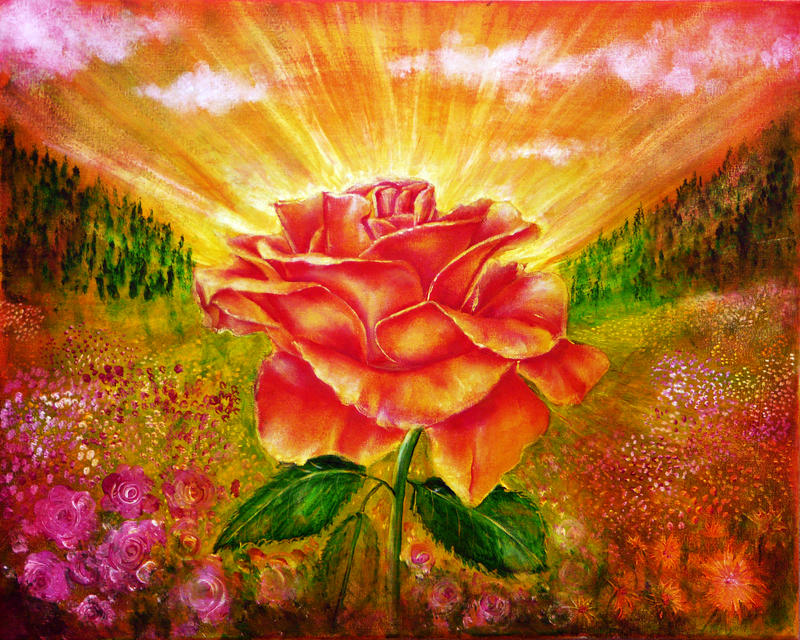 Rose by AnnMarieBone