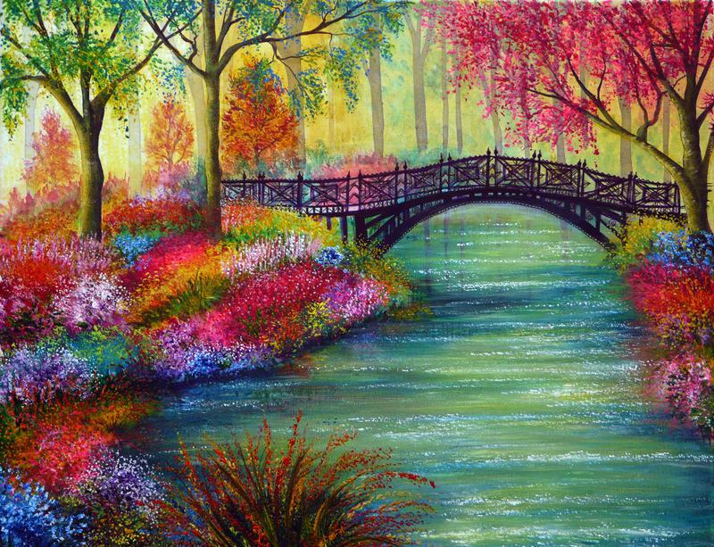 Elysian Bridge by AnnMarieBone
