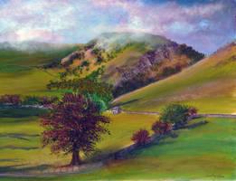 Ilam Hills by AnnMarieBone