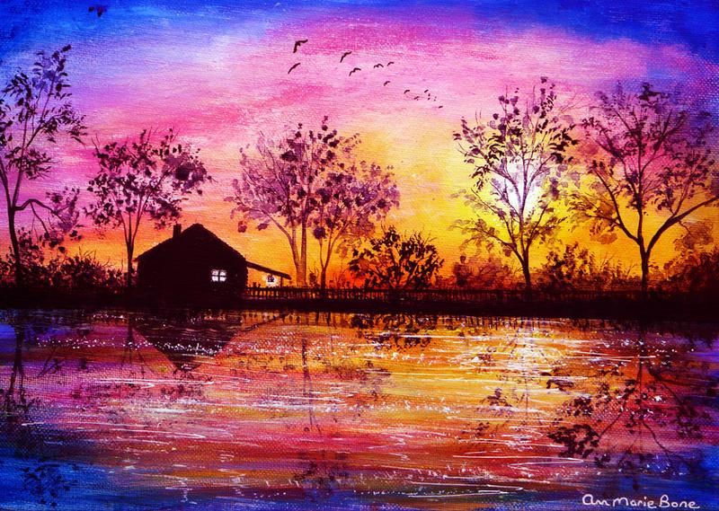 The Cabin by AnnMarieBone