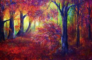 Forever Autumn by AnnMarieBone