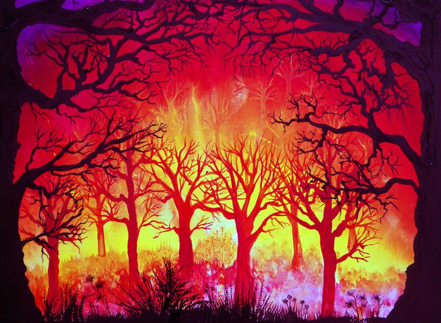 Spooky Night by AnnMarieBone