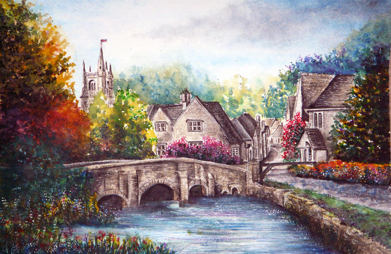 Castle Combe by AnnMarieBone