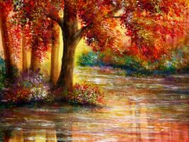 Still Waters by AnnMarieBone