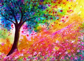 Valentine Tree by AnnMarieBone