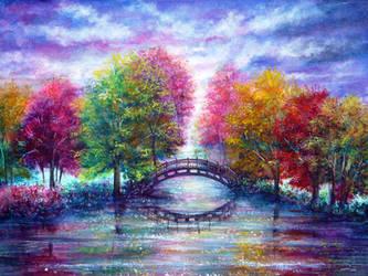 A Bridge to Cross by AnnMarieBone