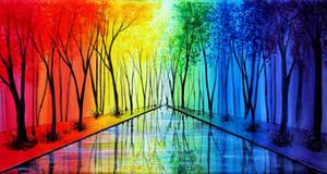 Into the Rainbow by AnnMarieBone
