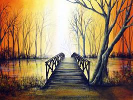 Petit Pont by AnnMarieBone