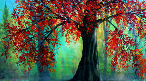 Autumn Leaves by AnnMarieBone