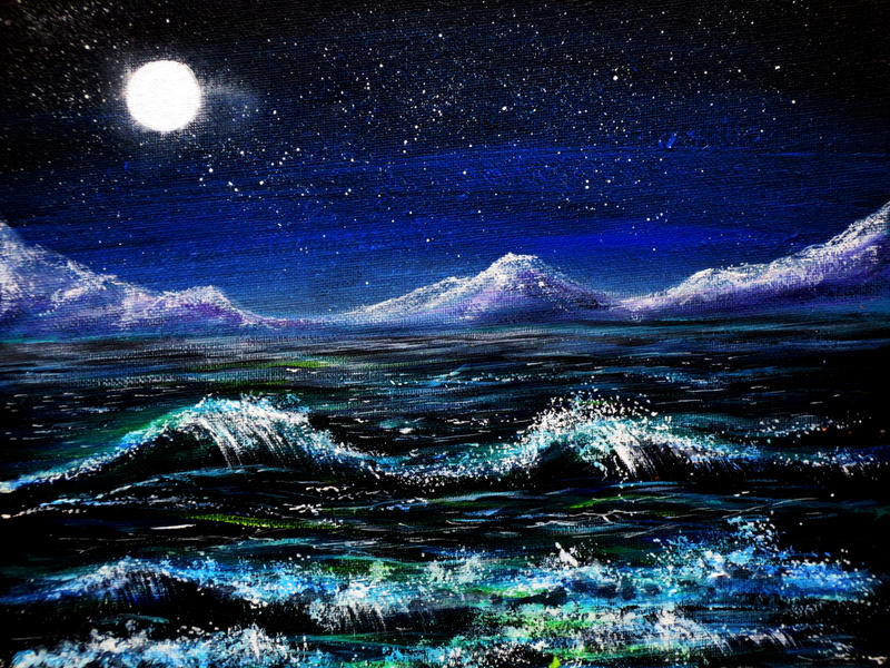 Midnight Waters by AnnMarieBone
