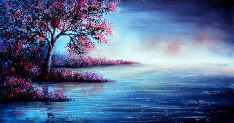 Blue Illusion by AnnMarieBone