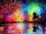 Rainbow Stallion by AnnMarieBone