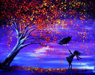 Autumn Wind by AnnMarieBone